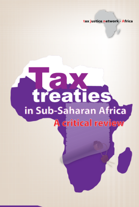 Tax treaties in sub-Saharan Africa report cover